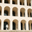 Stock Photo: Rome EUR (Palace of Civilization 021) -Rome - Italy