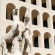 Stock Photo: Rome EUR (Palace of Civilization 004) -Rome - Italy