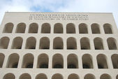 Rome EUR (Palace of Civilization 094) - Rome - Italy — Stock Photo