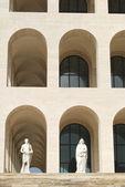 Rome Eur (Palais de la civilisation 092) - Rome - Italie — Photo