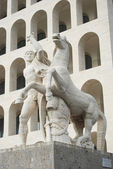 Rome EUR (Palace of Civilization 086) - Rome - Italy — Stock Photo