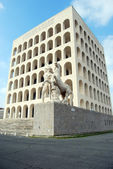 Rome EUR (Palace of Civilization 081) - Rome - Italy — Stock fotografie
