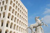 Rome EUR (Palace of Civilization 062) - Rome - Italy — Stock Photo