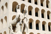 Rome EUR (Palace of Civilization 007) -Rome - Italy — Stock Photo