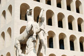 Rome EUR (Palace of Civilization 004) -Rome - Italy — Stock Photo