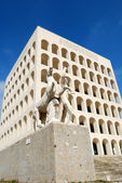 Rome EUR (Palace of Civilization 001) -Rome - Italy — Stock Photo