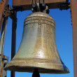 Bronze Bell - Bell - Malcesine Italy — Stock Photo