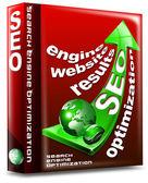 Seta de seo vermelho caixa - web de otimização de mecanismo de pesquisa — Foto Stock