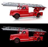 старые итальянские пожарная машина — Стоковое фото