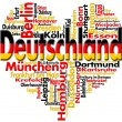 I Love Deutschland - Stock Photo