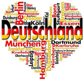 I Love Deutschland — Stock Photo