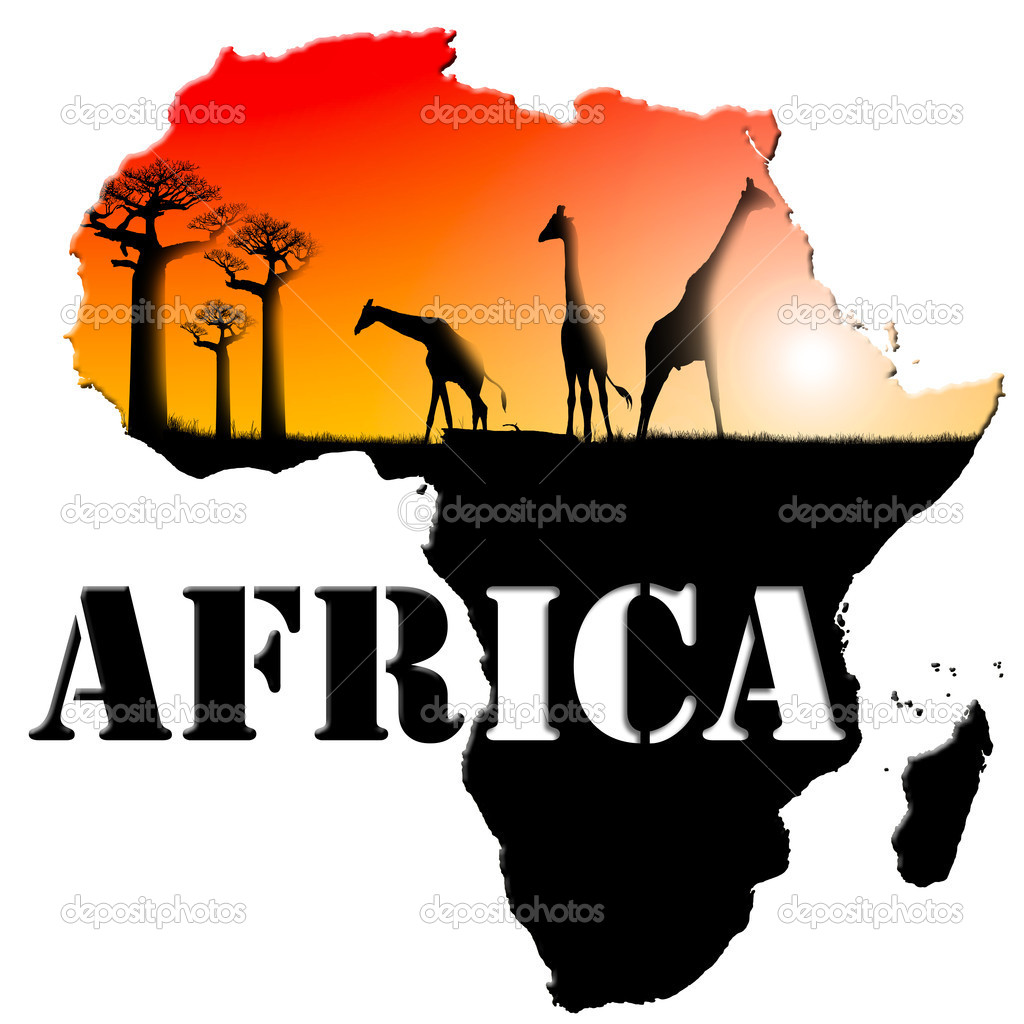 Africa Map Illustration — Stock Photo © catalby #8711817: depositphotos.com/8711817/stock-photo-Africa-Map-Illustration.html