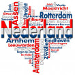 I Love Nederland (Netherlands) - Stock Photo