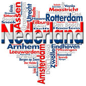 I Love Nederland (Netherlands) — Stock Photo