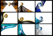Business Cards Backgrounds — Photo