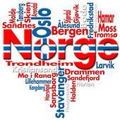 I Love Norge (Norway) — Foto de Stock
