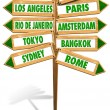 Royalty-Free Stock Photo: Crossroads Cities
