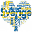 Stock Photo: I Love Sverige (Sweden)