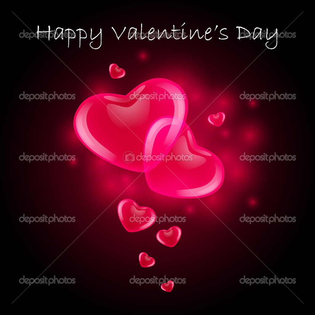 Valentine's Day Card — Stock Vector #8839465