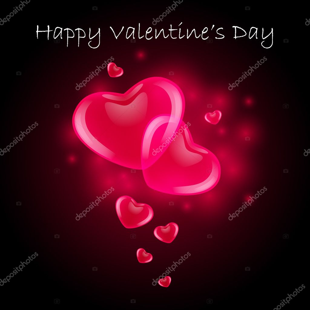 Valentine's Day Card — Image vectorielle #8839465