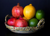 Assorted Fruit Arrangement — Stock Photo