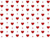 Heart pattern. 3D rendering — Photo
