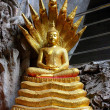 Image of Buddha in The Cave , Buddha Temple , Asia , Thailand — Stock Photo