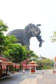 Erawan Monument — Stock Photo