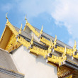 Royalty-Free Stock Photo: Buddhist church roof