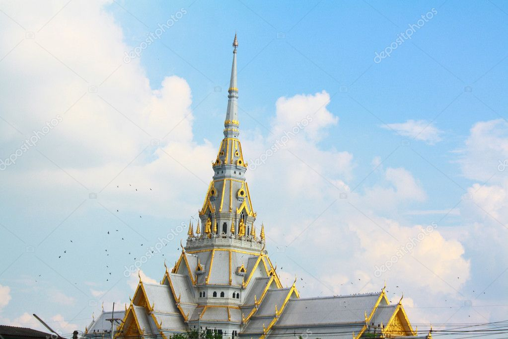 Sothonwararamworawihan ,temple of thailand — Stock Photo #9603182