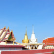 Buddhist church roof - Stock fotografie