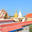 Buddhist church roof — Stock Photo