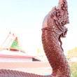 Thai dragon or king of Naga statue — Lizenzfreies Foto