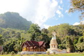 Thamchiangdao , Buddhist temple among forest ,Chiang Mai — Stock Photo