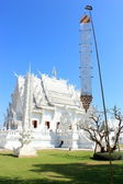 White Temple Wat rong khun Chiangrai Thailand — Stock Photo