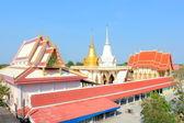 Buddhist church roof — Stock Photo