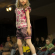 Fashion kids show in Minsk, Belarus — Stock Photo