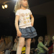 Fashion kids show in Minsk, Belarus — Foto de Stock