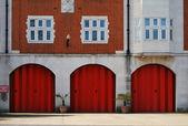 London Fire Station — Stock Photo
