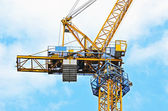 Construction tower crane — Foto Stock