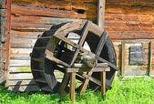 Vintage water mill wheel — Foto Stock