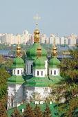 Klasztor vydubitsky — Zdjęcie stockowe