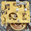 Stockfoto: Inside clock (clockworks)