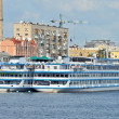 Cruise travel ship - Stockfoto