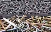 Screw in plastic organizer box — Stock Photo