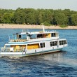 Motor travel river ship — Stock Photo #9538096