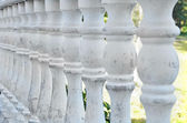 Antike steinerne balustrade — Stockfoto
