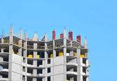 Construction site work — Stockfoto
