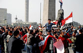 25 January Revolution Events in Egypt — Photo