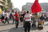 Devrim yolunda düzeltiliyor. eylül 9, 2011 — Stok fotoğraf